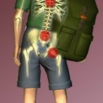 Wearing a Backpack - Beckenham & Sevenoaks Chiropractic Clinics